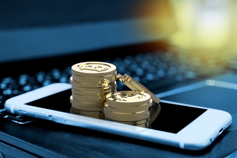 スマートフォン 仮想通貨
